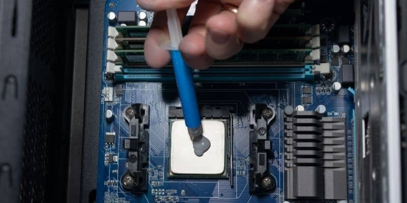 how much thermal paste is too much